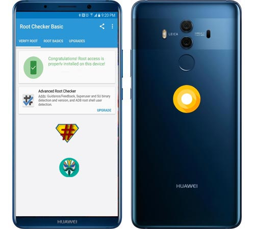 Root Huawei Mate 10 Pro Oreo Install TWRP