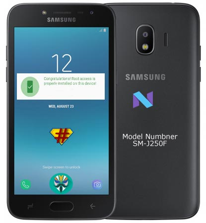 Root Samsung Galaxy J2 2018 SM-J250F Nougat 7.1.1 Install TWRP