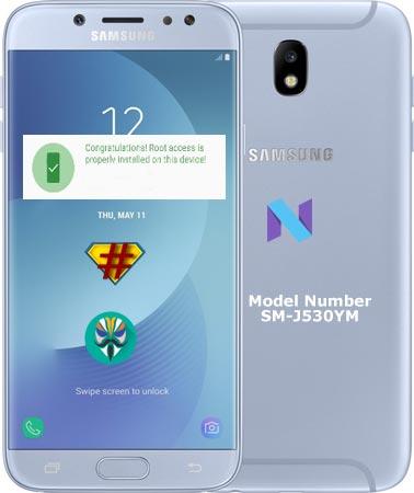 Root Samsung Galaxy J5 Pro SM-J530YM Nougat 7.0