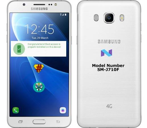 Root Samsung Galaxy J7 2016 SM-J710F Nougat 7.0 Install TWRP