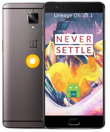 OnePlus 3T Lineage Oreo Official ROM 15.1