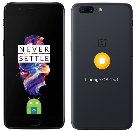 OnePlus 5 Lineage Oreo Official ROM 15.1