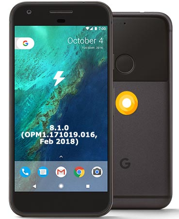 Google Pixel OPM1.171019.016 Oreo 8.1 Firmware Official