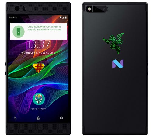 Root Razer Phone Nougat 7 1 1 Install Twrp Android Infotech