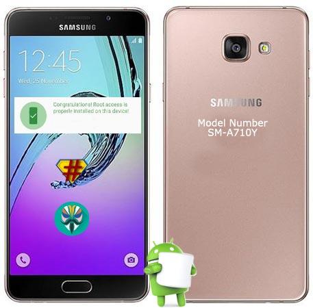 Root Samsung Galaxy A7 2016 SM-A710Y Marshmallow 6.0.1