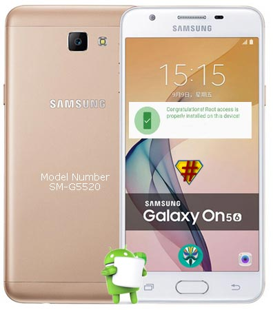 Root Samsung Galaxy On5 2016 SM-G5510 Marshmallow 6.0.1 Install TWRP