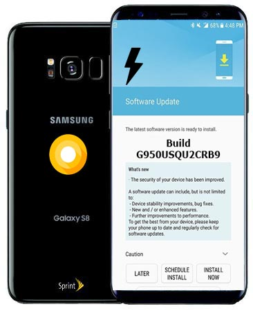 Samsung Galaxy S8 Sprint SM-G950U Oreo Official Firmware