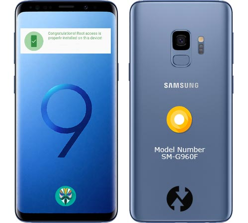 Root Samsung Galaxy S9 SM-G960F Oreo 8.0 Install Official TWRP