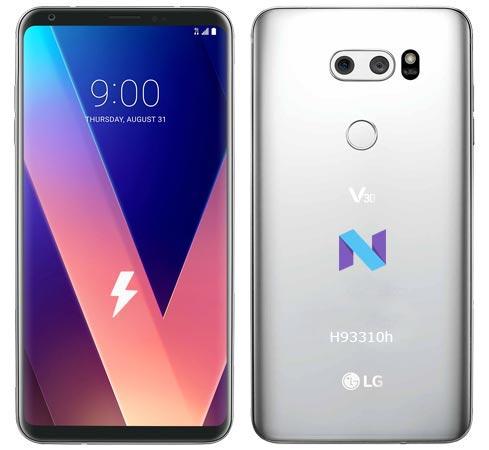 LG V30 Canada H93310h February 2018 Nougat Firmware