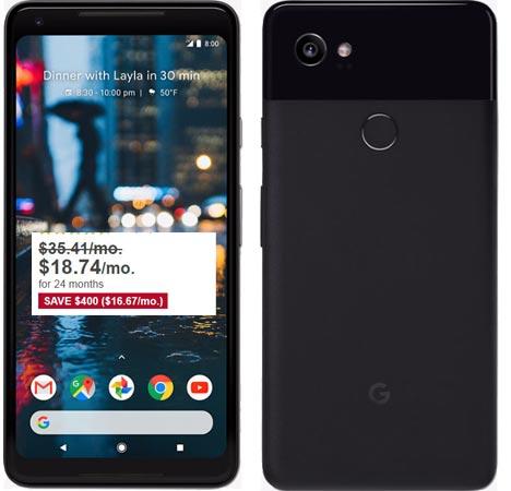 Google Pixel 2 XL Best Buy March 2018 Deal For USD 448