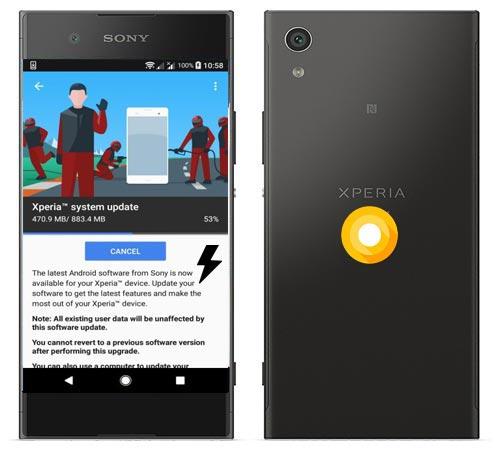 Sony Xperia XA1 Oreo Firmware