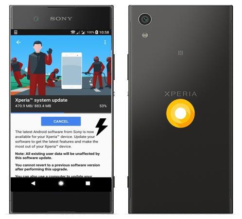 Sony Xperia XA1 Plus Oreo Firmware