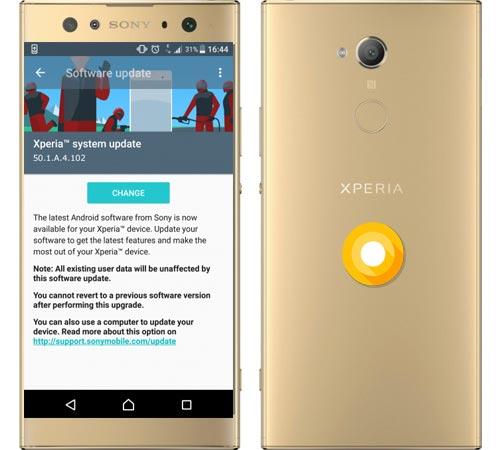 sony xperia xa1 ultra january 2018 ota update android infotech rh androidinfotech com Avira Manual Update Manual Update Icon