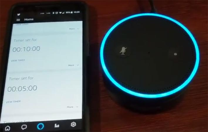 Amazon Alexa Broadcast One Way Voice Feature to all the Echo Devices