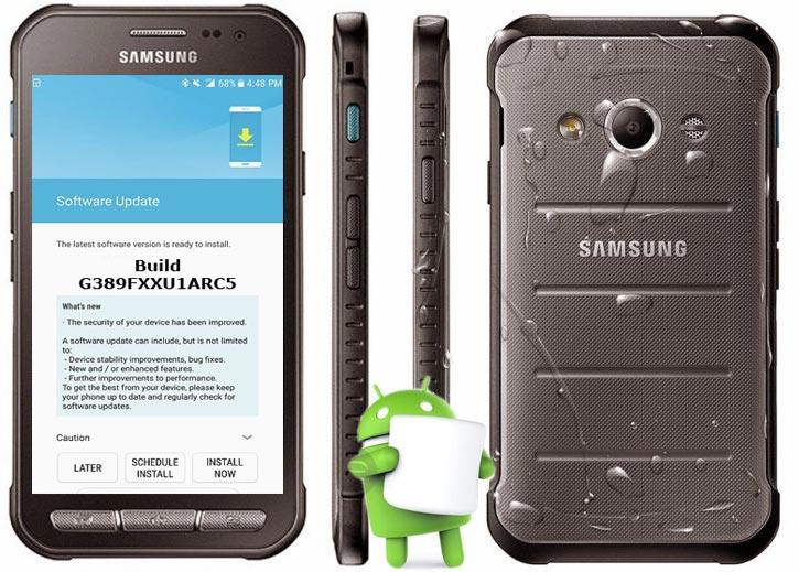 Samsung Galaxy Xcover 3 VE LTE SM-G389F April 2018 OTA G389FXXU1ARC5