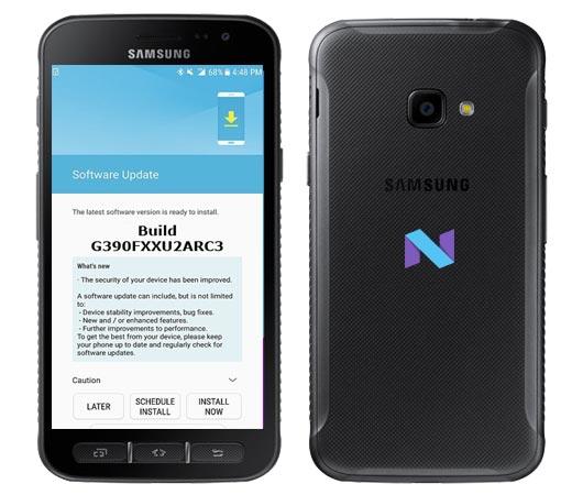 Samsung Galaxy Xcover 4 SM-G390F April 2018 OTA G390FXXU2ARC3