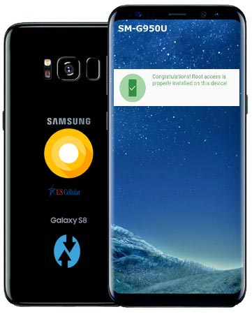 Root Samsung Galaxy S8 US-Cellular SM-G950U Oreo Install TWRP