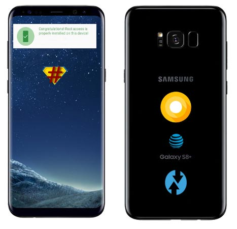 Root Samsung Galaxy S8 Plus AT&T USA SM-G955U Oreo Install TWRP