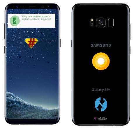 Root Samsung Galaxy S8 Plus T-Mobile USA SM-G955U Oreo Install TWRP