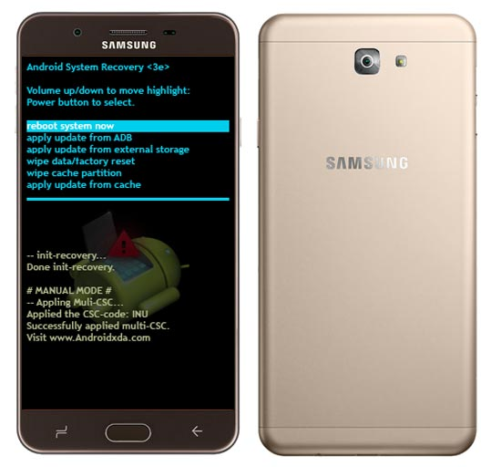 Samsung Galaxy J7 Prime 2 Modes and Respective Keys