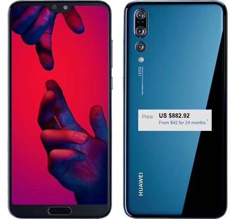 Huawei P20 Pro Order Available eBay US Region USD 883