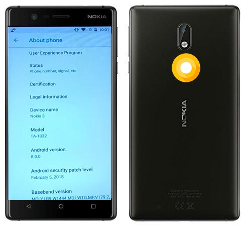 Nokia 3 Oreo Official OTA 8.0 Update
