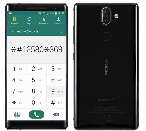 Nokia 8 Sirocco Codes-Useful Checking Secret Codes