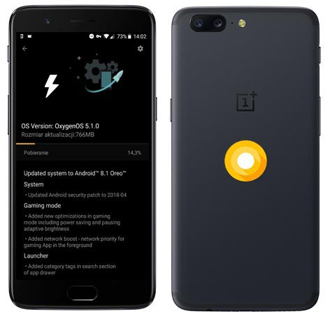 OnePlus 5 OxygenOS 5.1.0 Oreo Official ROM