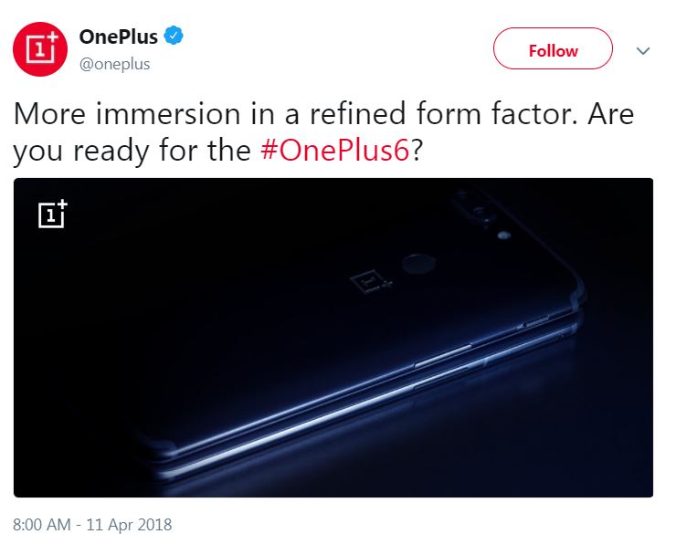 OnePlus 6 Official Tease and Specifications Also Leaked Proof