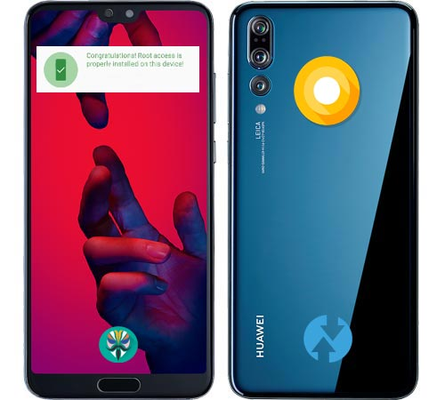 Root Huawei P20 Pro Oreo Install Official TWRP