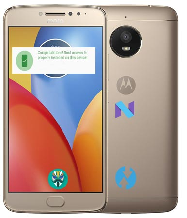 Root Moto E4 Plus Nougat Install Official TWRP