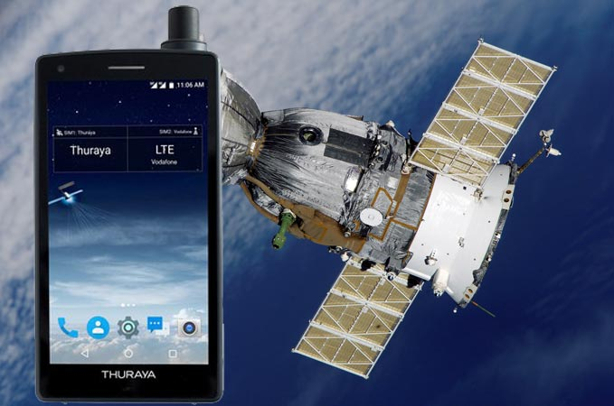 Thuraya X5-Touch First Satellite Phone Launched
