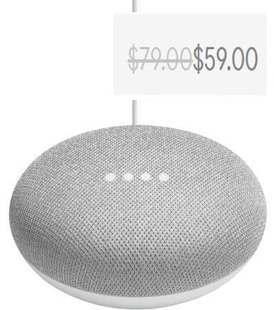 Google Home Mini Canada Deal CAD 59