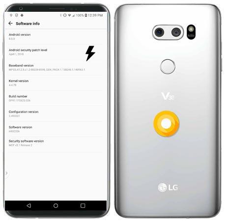 LG V30 T-Mobile H932 Oreo Firmware