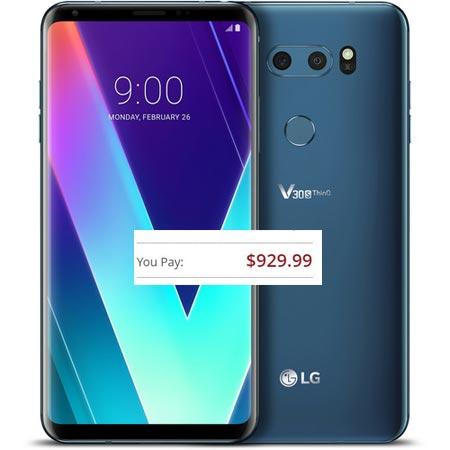 LG V30S ThinQ Pre-Order US Region USD 929