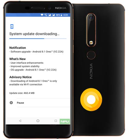 Nokia 6 2018 May 2018 OTA Official Update