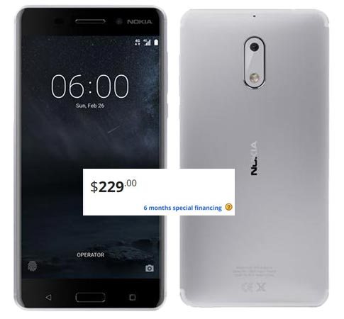 Nokia 6 Newegg Deal US Region USD 229