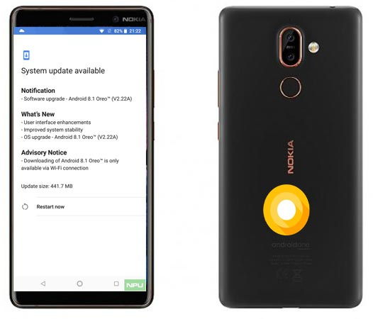 Nokia 7 Plus May 2018 OTA Official Update