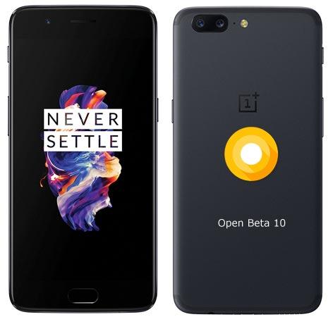 OnePlus 5 OxygenOS Open Beta 10 ROM