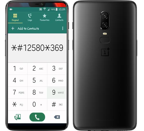 OnePlus 6 Secret Codes
