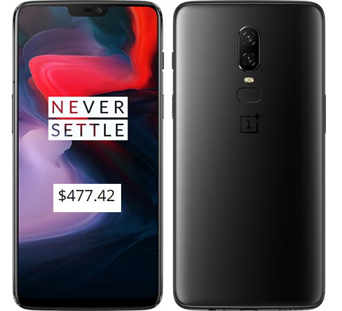 OnePlus 6 Student Program Deal USD 477