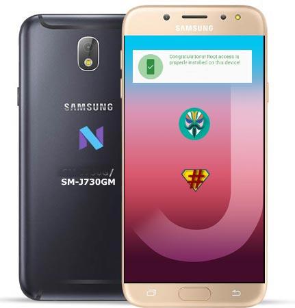 Samsung Galaxy J7 Pro SM-J730GM Nougat 7.0 CF-Root