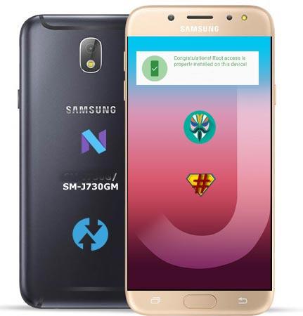 Root Samsung Galaxy J7 Pro SM-J730GM Nougat 7.0 Install TWRP