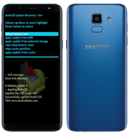 Samsung Galaxy J6 Modes and Respective Keys