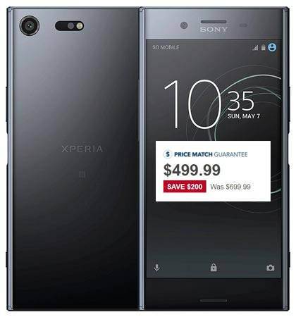 Sony Xperia XZ Premium Best Buy Deal USD 499