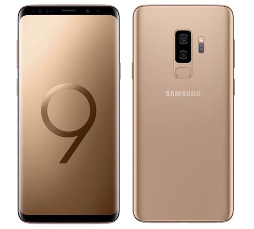Samsung Galaxy S9 S9 Plus Sunrise Gold Available