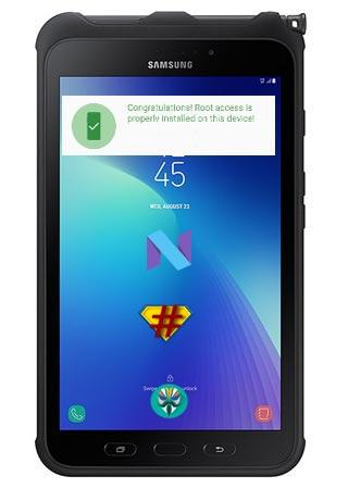 Samsung Galaxy Tab Active 2 SM-T395 Nougat 7.1.1 CF-Root