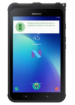 Root Samsung Galaxy Tab Active 2 SM-T395 Nougat 7.1.1 Install TWRP