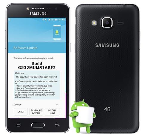 Samsung Galaxy J2 Prime SM-G532M June 2018 Official OTA G532MUMS1ARF2