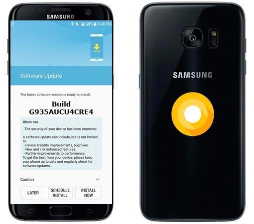 Samsung Galaxy S7 Edge AT&T USA SM-935A Oreo Official OTA G935AUCU4CRE4